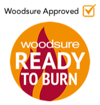 Woodsure approved logo, Beaver Logs: Quality Kiln Dried Logs Scotland & Northern England