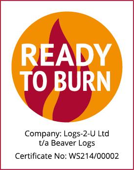 Ready to Burn certificate, Logs Scotland | Beaver Logs