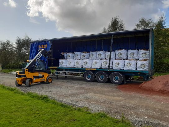 Loading logs for delivery