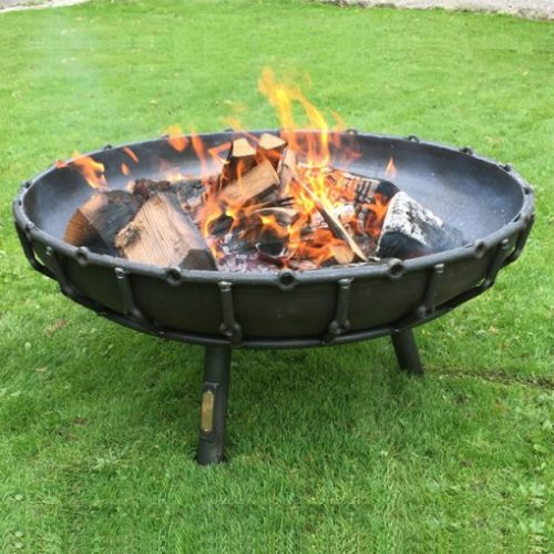 The Viking Fire Pit 80cm - Order Directly from Beaver Logs